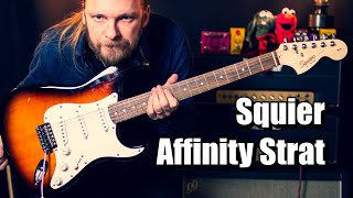 Squier Affinity Stratocaster (Good Affordable Guitar?)