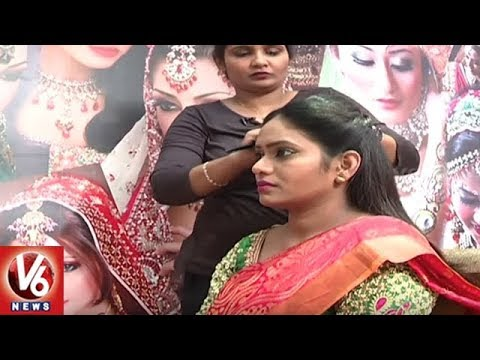 Demand For 'Salon At Home' Services Increased In Hyderabad Due To Wedding Season | V6 News