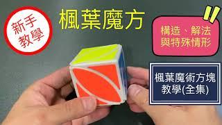 楓葉魔術方塊教學   Ivy Cub構造、解法與特殊情形 簡單解法 魔方還原教程 特殊異形 奇藝魔方格(中文字幕) 3X3進階