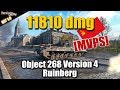 WOT: Object 268 Version 4, 11800 damage, 5 kills, Ruinberg, ziki87 MVPS, WORLD OF TANKS