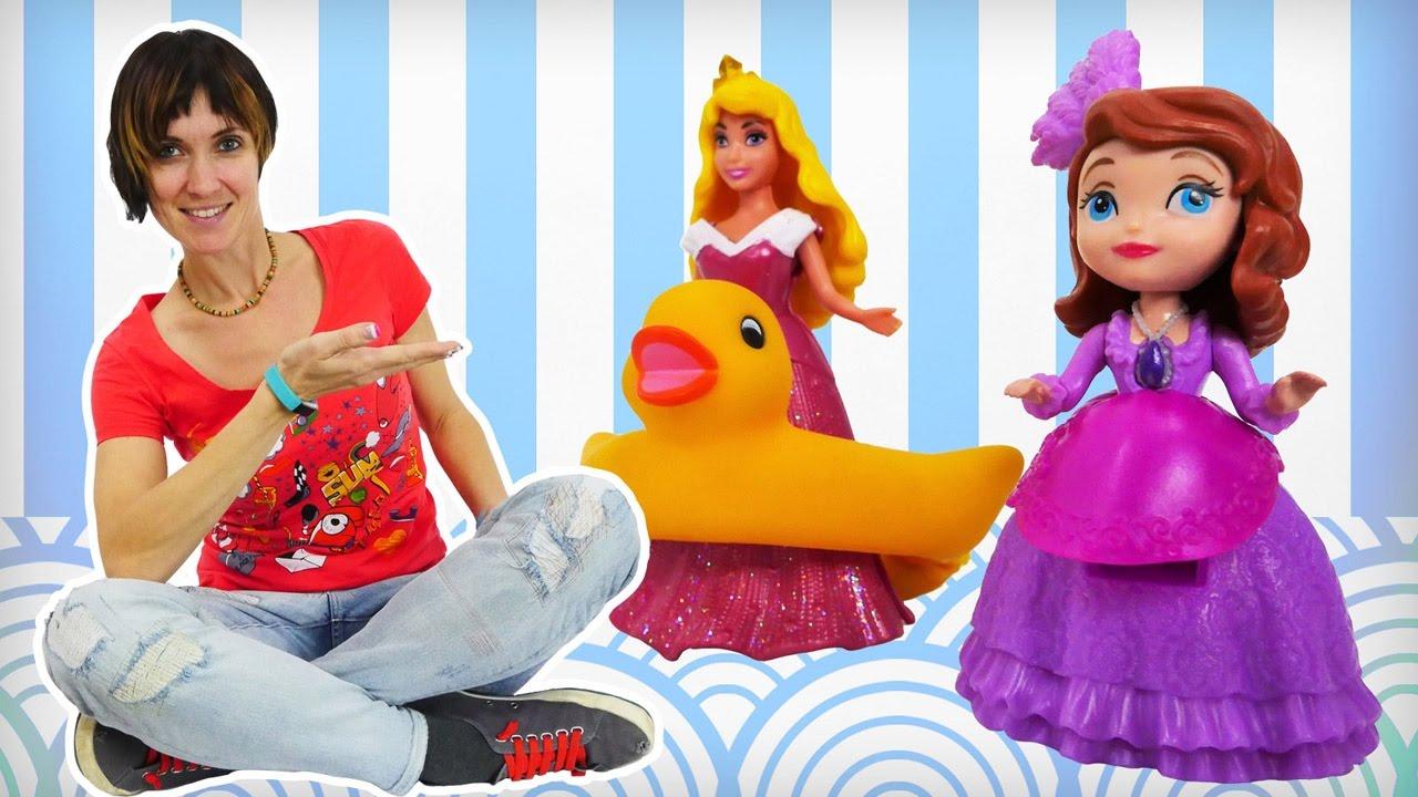 Принцессы Дисней в видео для детей Капуки Кануки Детский Сад