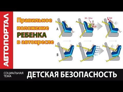 Безопасность ребенка Почему до года возим в развернутом кресле?