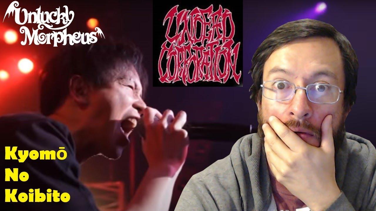 Unlucky Morpheus feat. Undead Corporation | Kyomō No Koibito (en vivo) | REACCIÓN (reaction)
