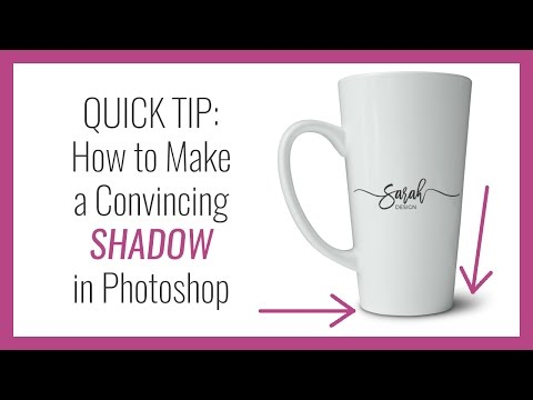 How To Make A Convincing Shadow In Photoshop - Quick Tip