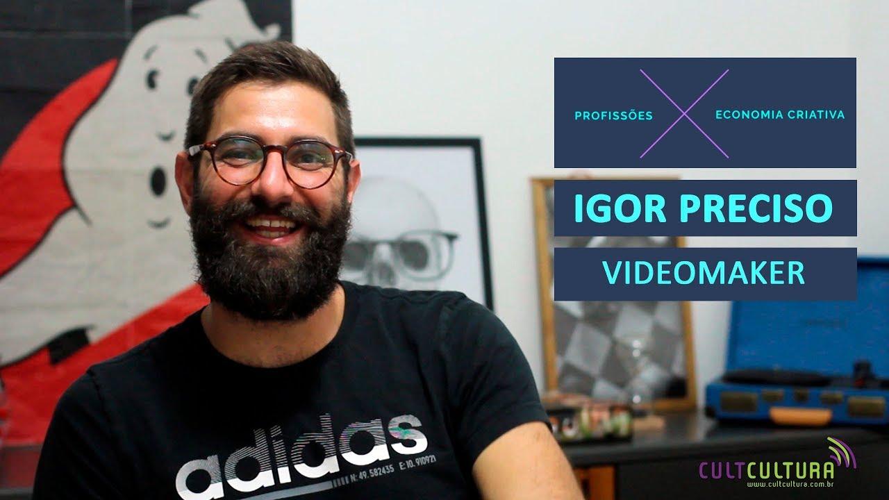 Conheça a rotina de um videomaker, com Igor Preciso