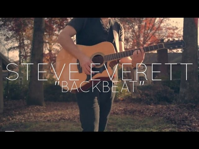 "Steve Everett ""Backbeat"" Official Music Video (live)"