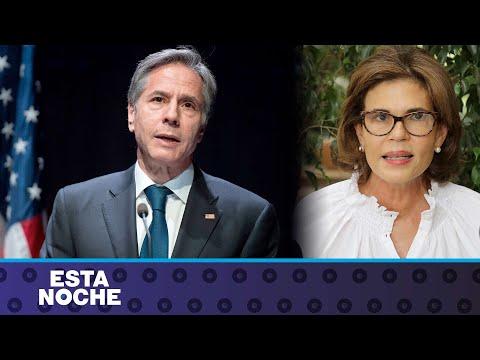 """Secretario de Estado de EE.UU: Inhibición de facto de Cristiana Chamorro """"refleja miedo de Ortega"""""""