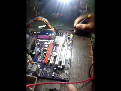 Last Solution Motherboard No Display Problem Youtube