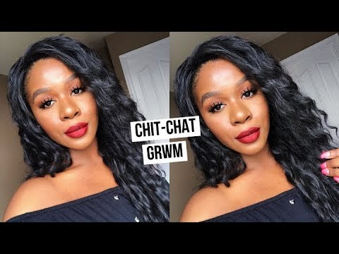 CHIT CHAT GRWM LIFE UPDATE + TRYING A WIG FOR THE FIRST TIME! l READY WIG