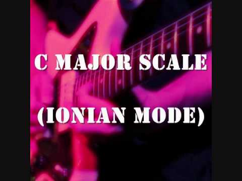 C Major Scale (Ionian Mode) - Groove Backing Jam Track