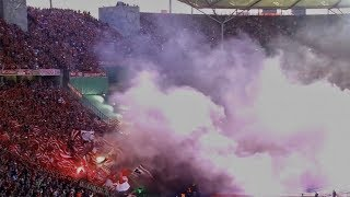 FC Bayern München VS Frankfurt PYRO (DFB POKAL)
