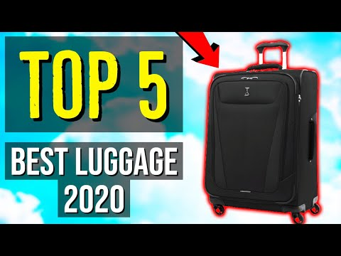 ✅ TOP 5: Best Luggage 2020