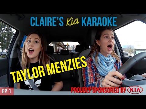 Claire's Kia Karaoke: Ep.1 - TAYLOR MENZIES