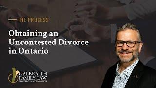 Canada Easy divorce