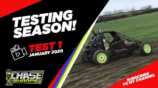 CHASE SHARPE - TESTING SEASON - TEST 1 - JANUARY 2020 - JUNIOR AUTOGRASS