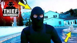 YALANCI ESKİ SEVGİLİMİN EVİNİ SOYUYORUM! - Thief Simulator