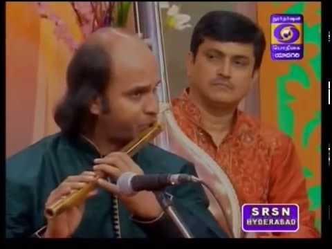 Flute M AnanthaKrishna 05 Krishna nee Yaman Kalyani DasarPada
