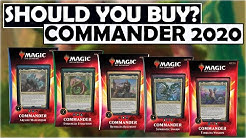 Should You Buy Commander 2020 Decks? Finance and Function Discussion [MTG / Magic: The Gathering]