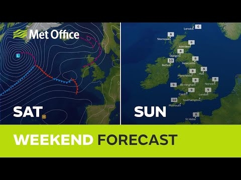Weekend weather - A milder weekend ahead but will there be much sunshine?