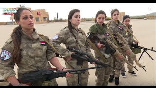 Syrian Christian girls defend their town from Western backed moderate beheaders
