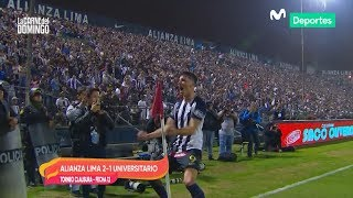 La Carne del Domingo: Alianza Lima venció 2-1 a Universitario en el Clásico del Fútbol Peruano