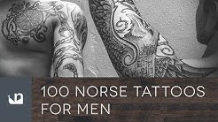 100 Norse Tattoos For Men