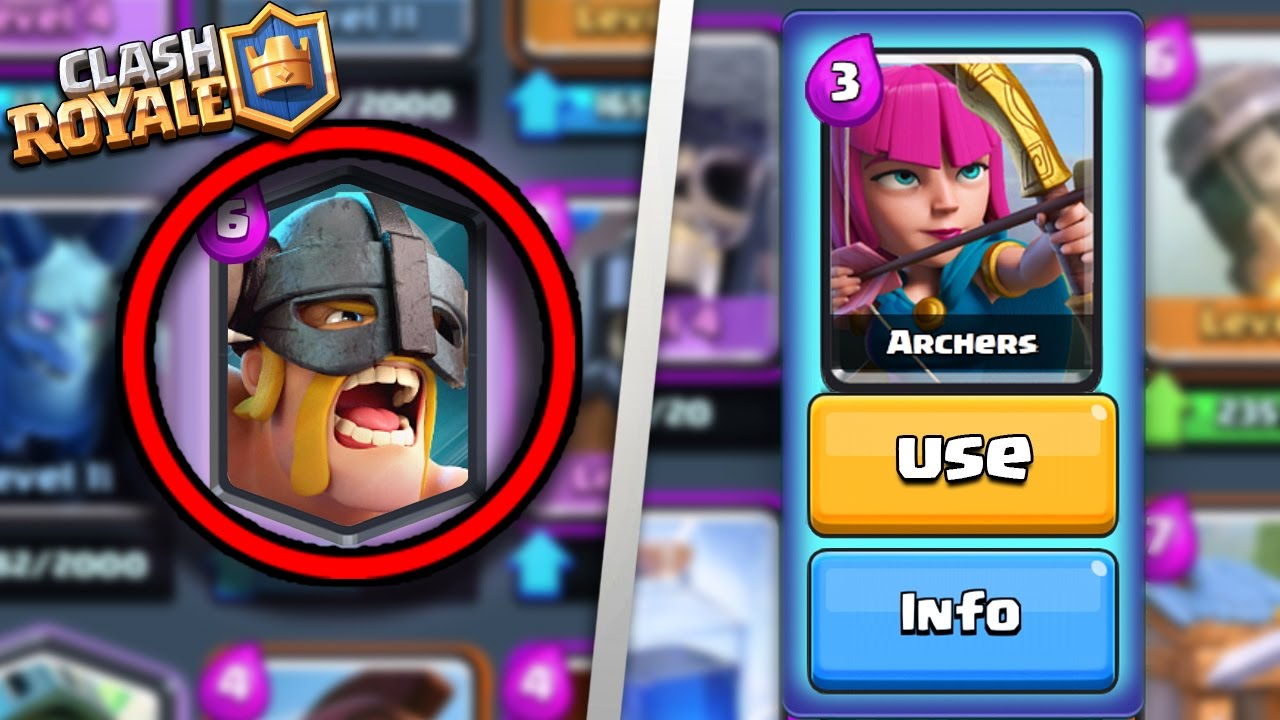 TOP 5 BEST CARDS IN CLASH ROYALE AFTER NEW UPDATE! | BEST LEGENDARY