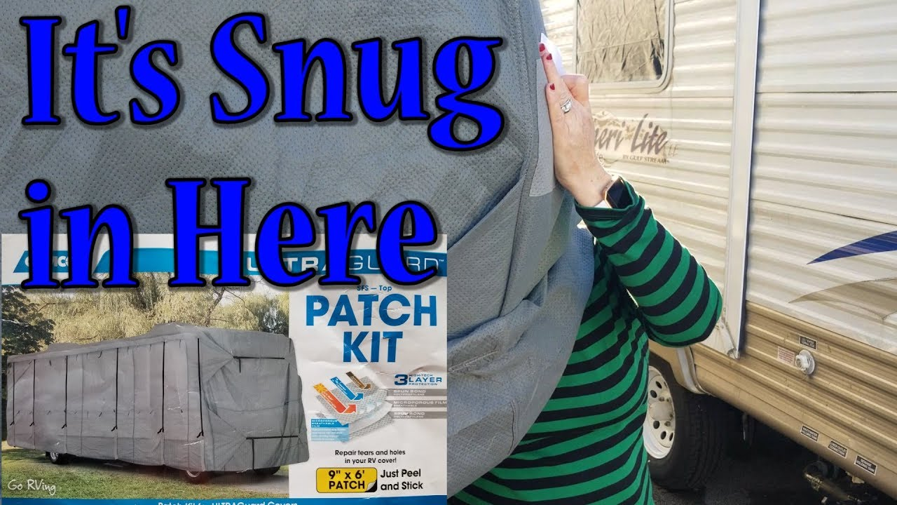 Rv Motorhome Cover Repair Patch Job Repair Tears Youtube