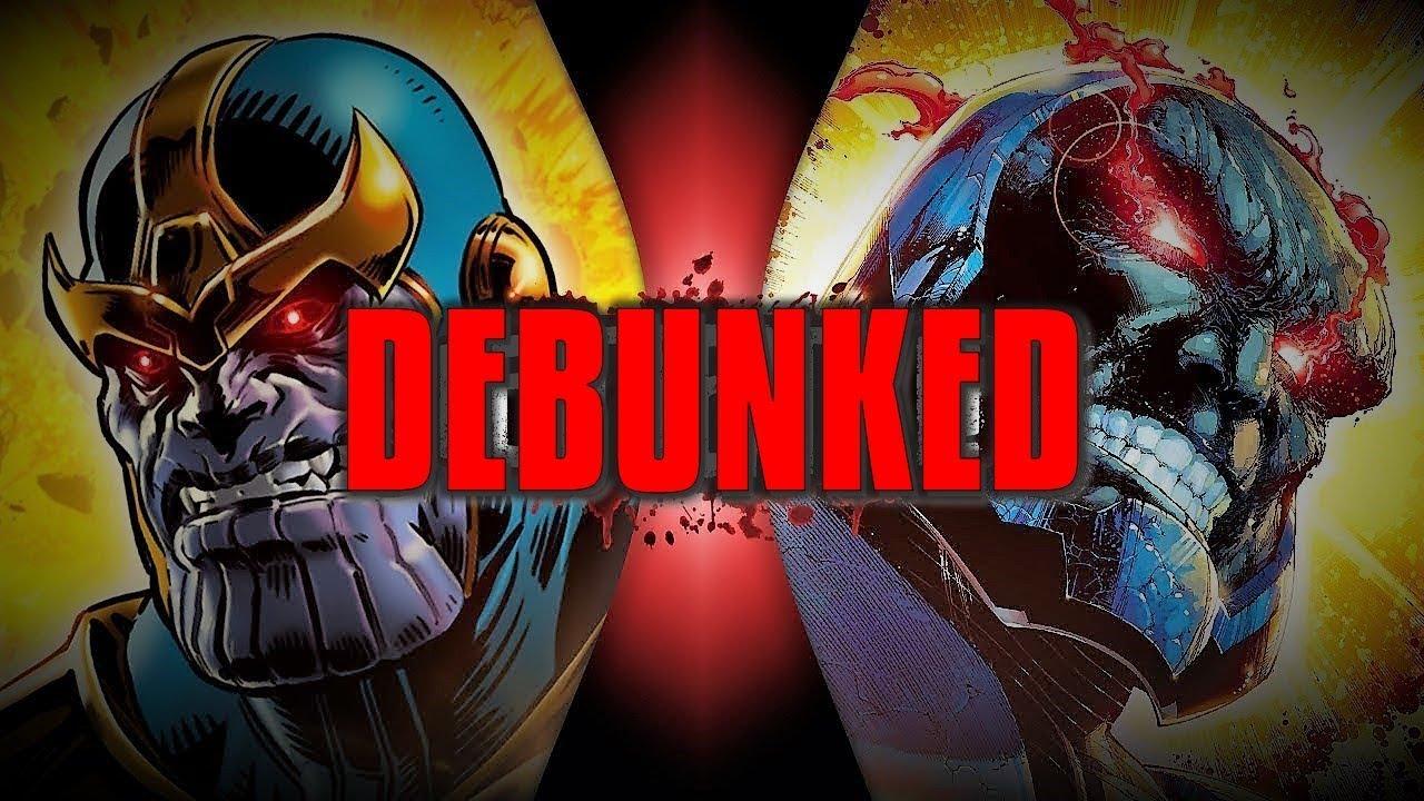 Thanos VS Darkseid (Death Battle) DEBUNKED!