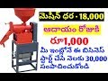 New small Home based business idea in telugu
