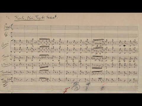 Tchaikovsky - Symphony No. 4 in F Minor (Facsimile Score)