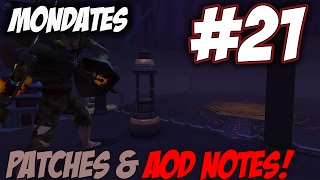 Runescape's Mondates | Journey 21 [PATCH NOTES AND NEX AOD CURSE IMPROVEMENTS] Runescape 3 Updates
