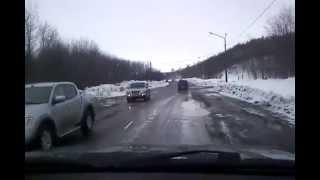 Ноглики Авария Toyota Land Cruiser 200 vs Toyota Land Cruiser Prado