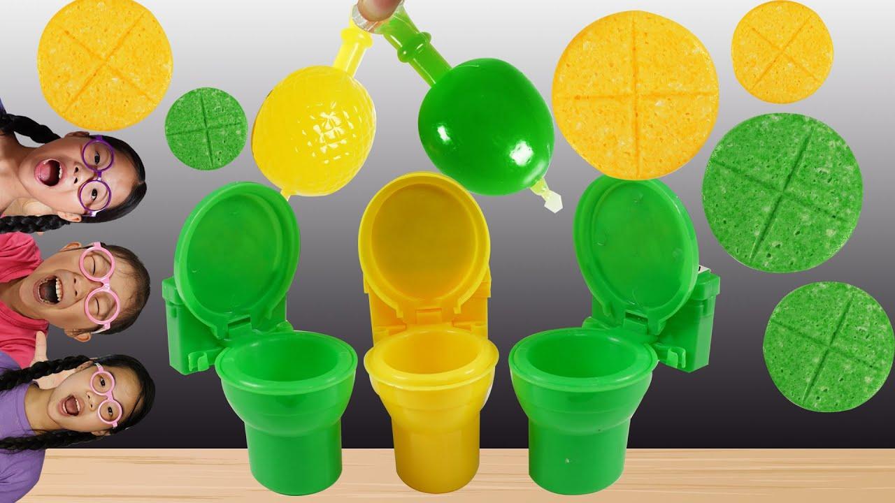 Yellow Green Food feat JA Yummy 노란색 초록색 TwinRoozi Mukbang 쌍둥이루지 먹방