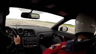 Corvette ZR1 vs 2012 Nissan GTR - 1 Mile Drag Race - Race The Base 2012