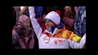Olympic Games in Sochi 2014 Олимпийский огонь БАЙКАЛ - ТАЛЬЦЫ(, 2013-12-01T11:41:38.000Z)