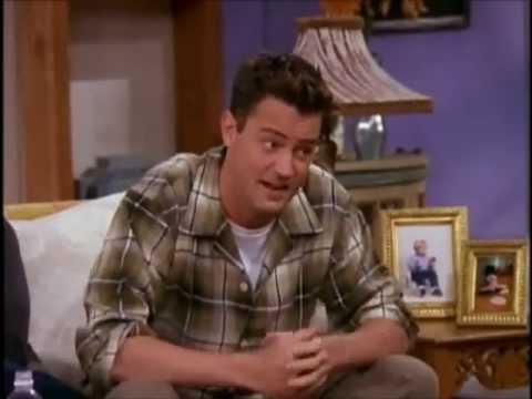 Chandler Bing's victory dance