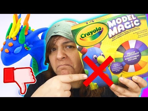 DON'T BUY! 7 REASONS Crayola Model Magic Clay Is NOT Worth It SaltEcrafter #2