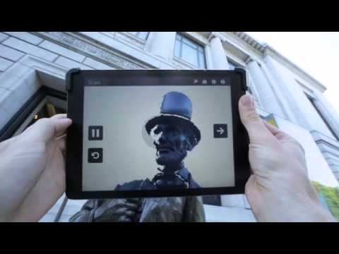 3D Systems iSense 3D scanner for iPad