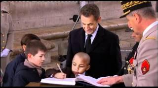 Sarkozy : commémoration du 11 Novembre