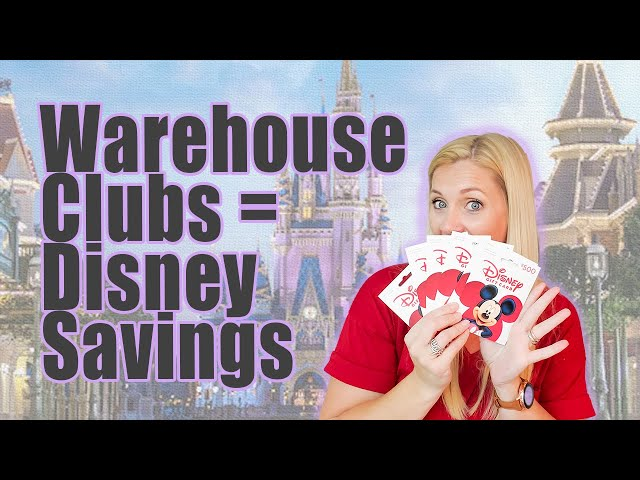 WAREHOUSE CLUBS DISNEY SAVINGS | How To Shop Smart To Save Money On Your Disney Vacation | WDW | DL