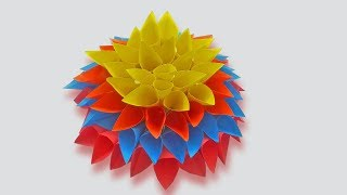 DIY Paper Flowers rose   Make Very Easy and Simple Paper Crafts