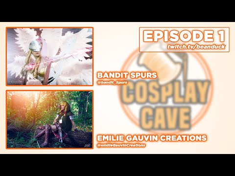 The Cosplay Cave   Bandit Spurs & Emilie Gauvin Creations
