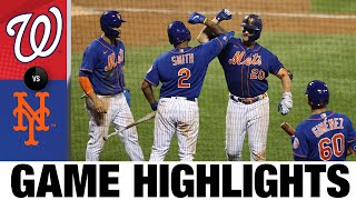 Pete Alonso leads Mets to an 11-6 victory | Nationals-Mets Game Highlights 8/12/20