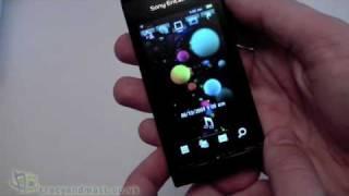 Sony Ericsson Satio unboxing video(Matt unboxes the new Sony Ericsson Satio 12 megapixel camera phone., 2009-11-02T08:28:42.000Z)