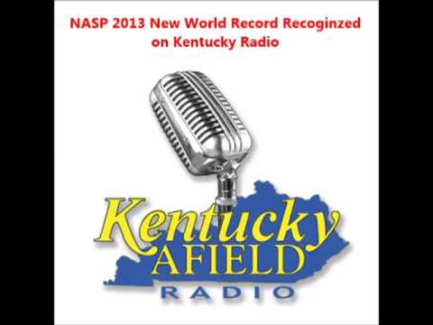 NASP 2013 World Record recognized on Kentucky radio