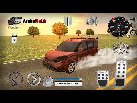 Direksiyonlu Fiat Doblo Araba Oyunu // Fiat Doblo Drift & Sürüş Simülatörü