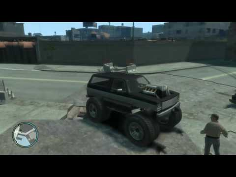 GTA 4 How to open the Garage in south bohan 1080pHD