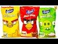 Angry Birds Potato Chips Чипсы ЛЮКС Кола Злые Птицы