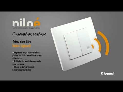 legrand nilo tm nouvelle gamme d 39 appareillage lectrique youtube. Black Bedroom Furniture Sets. Home Design Ideas
